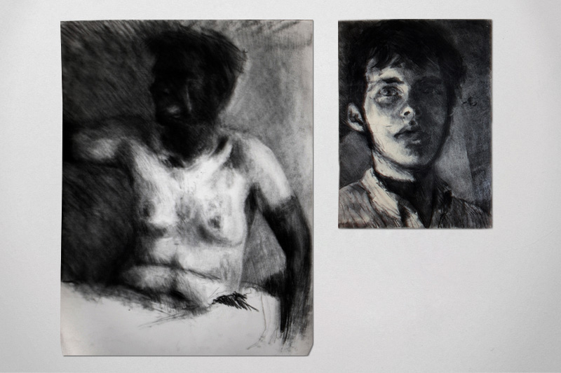 Self-portrait studies (2005)