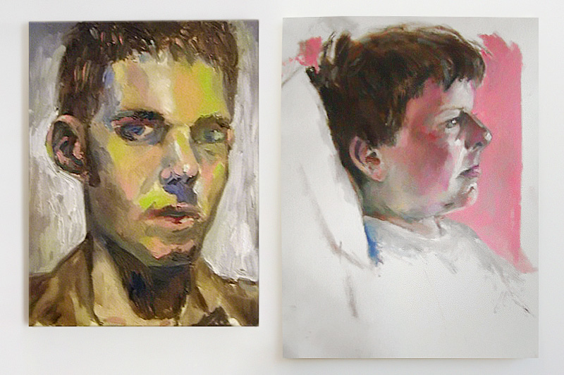 Self-portrait (2003) / John (2003)