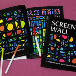 Screen Wall colouring book